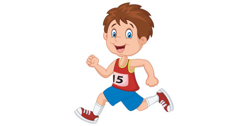 cartoon runner